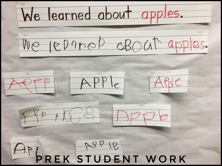 PreK Apple writing.jpg